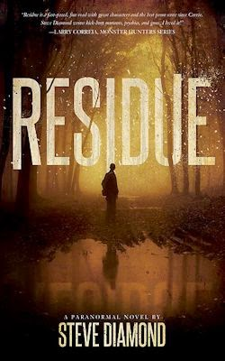 Interview with Steve Diamond, author of Residue - April 21, 2015