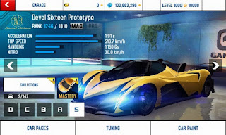 Asphalt 8 v2.4.0h Mod Apk (Free Shopping and Unlock All Car)