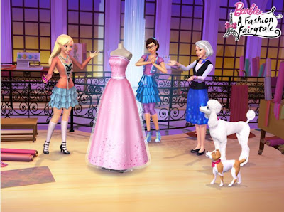 Barbie Fashion Fairytale Designer Games