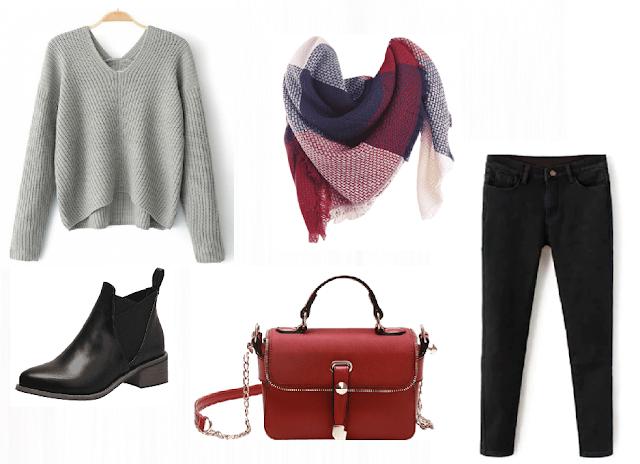 Zaful wishlist | gray sweaters
