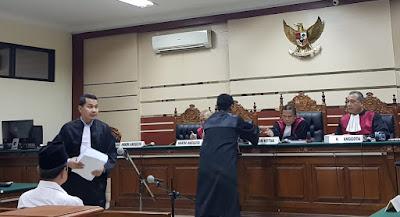 Bandingkan Tuntutan Wiwiet, Penasehat Hukum Mas'ud Yunus : JPU Tidak Adil