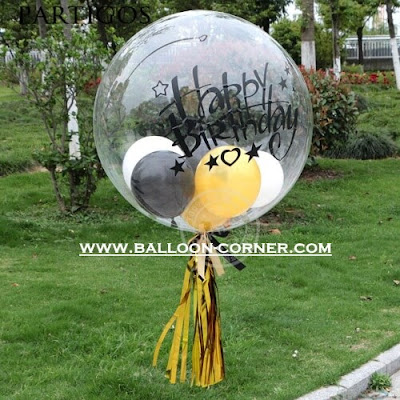 Balon Latex Transparan 18 Inch