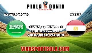 Prediksi Bola Saudi Arabia vs Mesir 25 Juni 2018