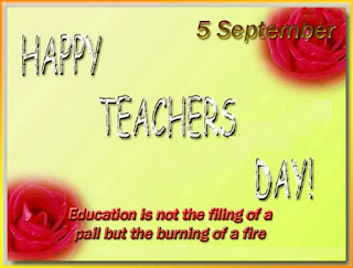 Teacher Day Greeting Card