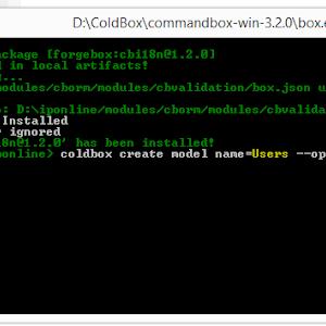 Setup Datasource in ColdBox + Lucee !