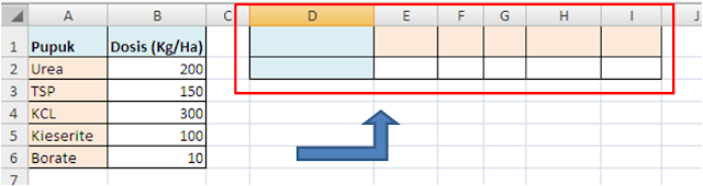 Transpose Format Data Excel