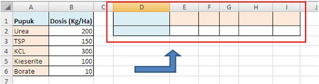 Transpose Format Data Excel