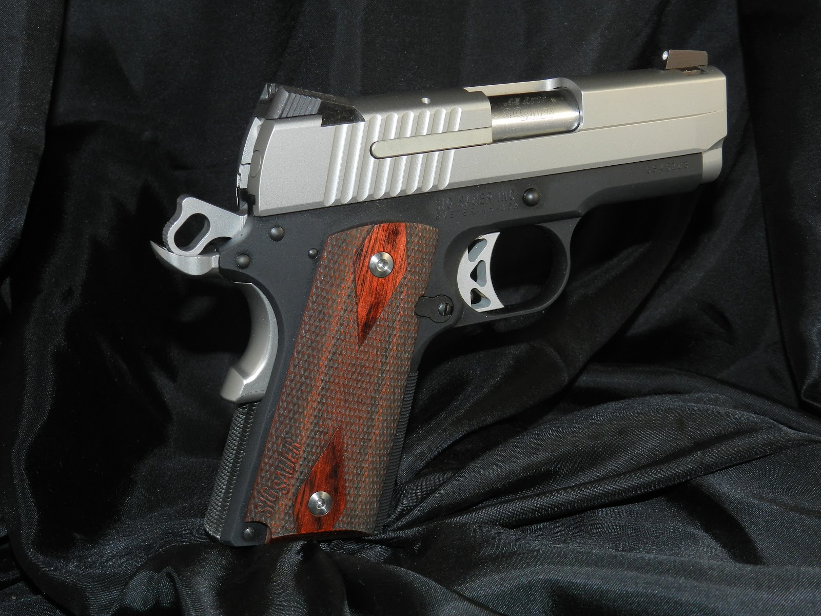 Average Joe's Handgun Reviews: SIG 1911 Ultra  45 ACP