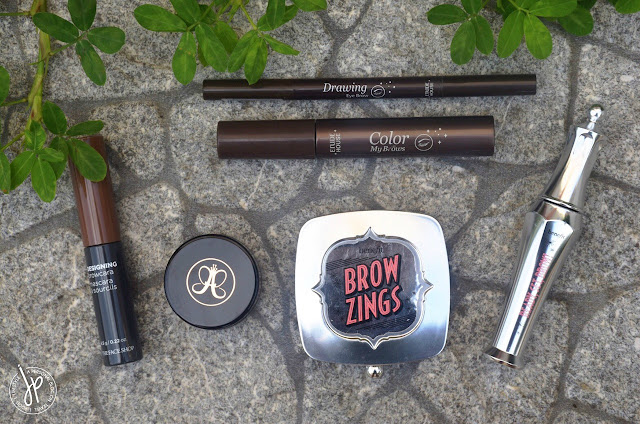 the face shop, anastasia beverly hills, etude house, benefit cosmetics