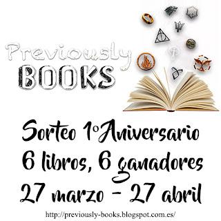 Sorteo Previusly books