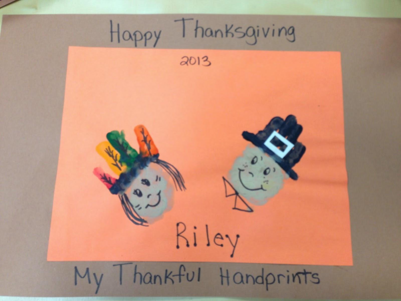 Precious Toddler Thanksgiving