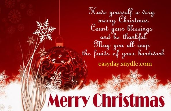 Merry Christmas Wishes Greetings and Messages
