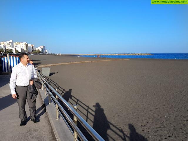 El PP pide a los candidatos de CC y PSOE que intercedan para dotar a la playa de servicios básicos