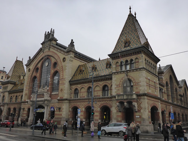 Halles centrales Budapest Hongrie