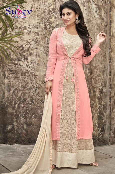 New Arrival of Mouni Roy Style Anarkali Suits Online Collection ...