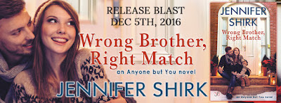 Release Blast & Giveaway: Wrong Brother, Right Match by Jennifer Shirk