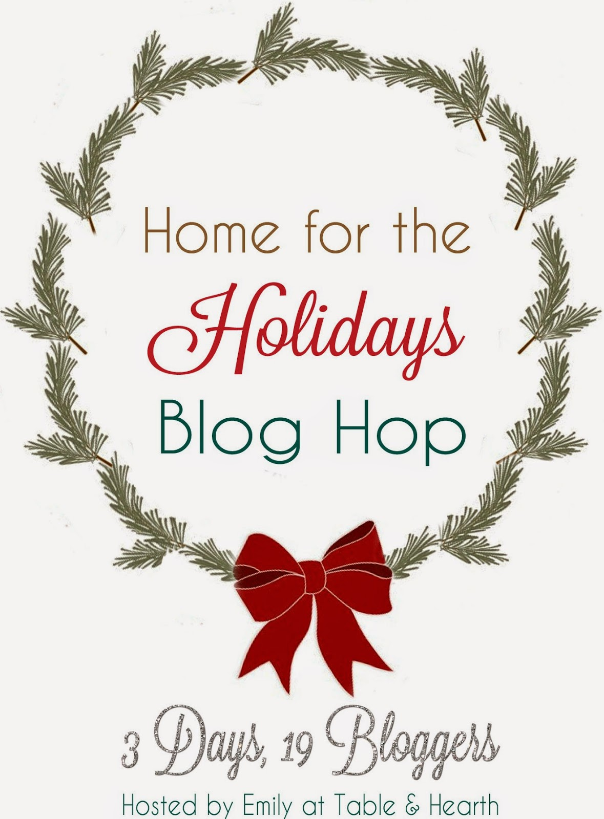 Decorating for Christmas while Under Construction  |  Home for the Holidays Blog Hop  |  Mrs. Fancee