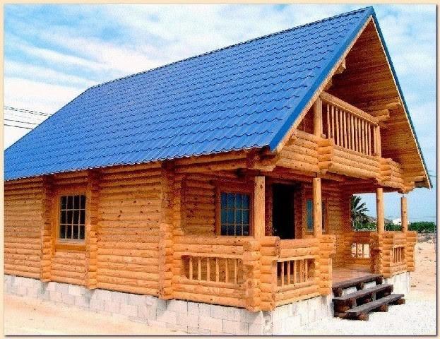 model rumah dari kayu 2