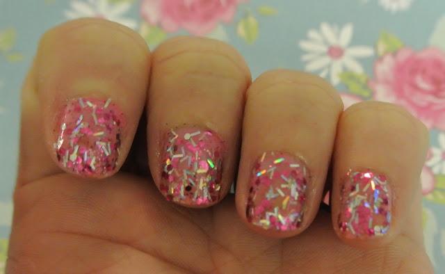 pink sapphire glitter