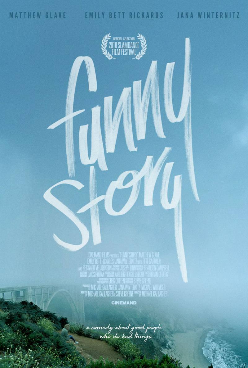 funny story 2018 film poster