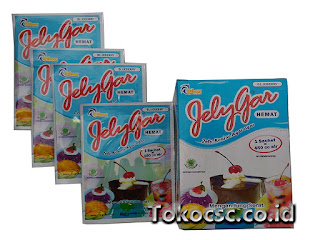 Jelly Powder Jelygar Hemat Blueberry