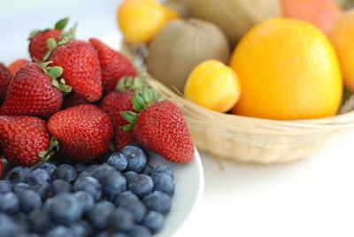 fruta en la cocina de la abuela