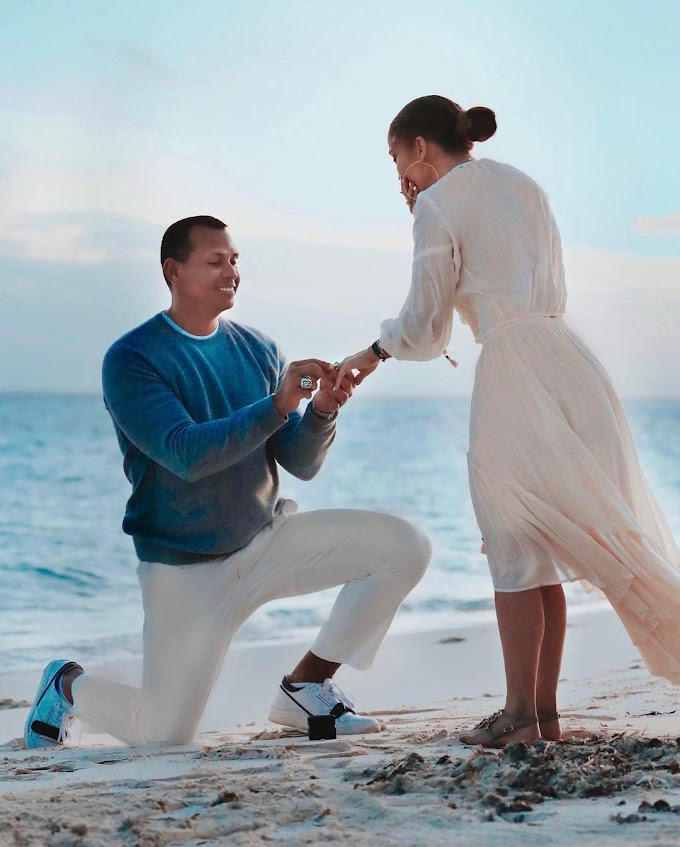 Lovely photos from the scene where Alex Rodriguez proposed to Jennifer Lopez