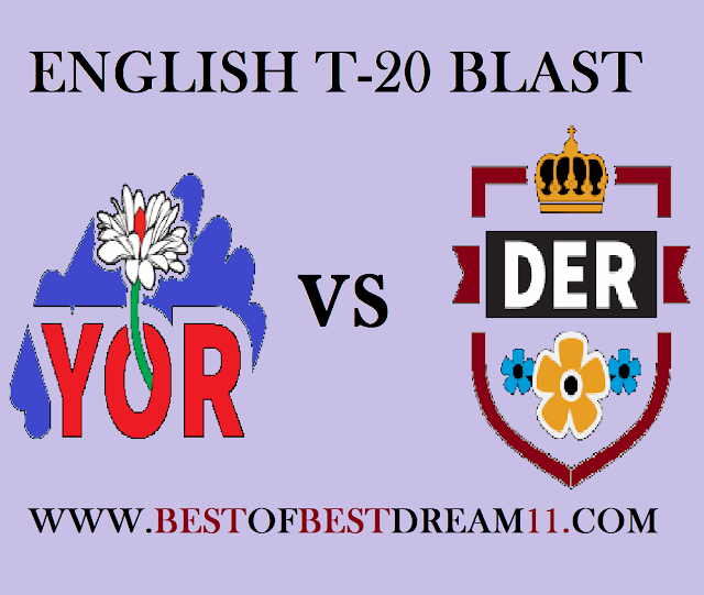 YOR VS DER MATCH DREAM11