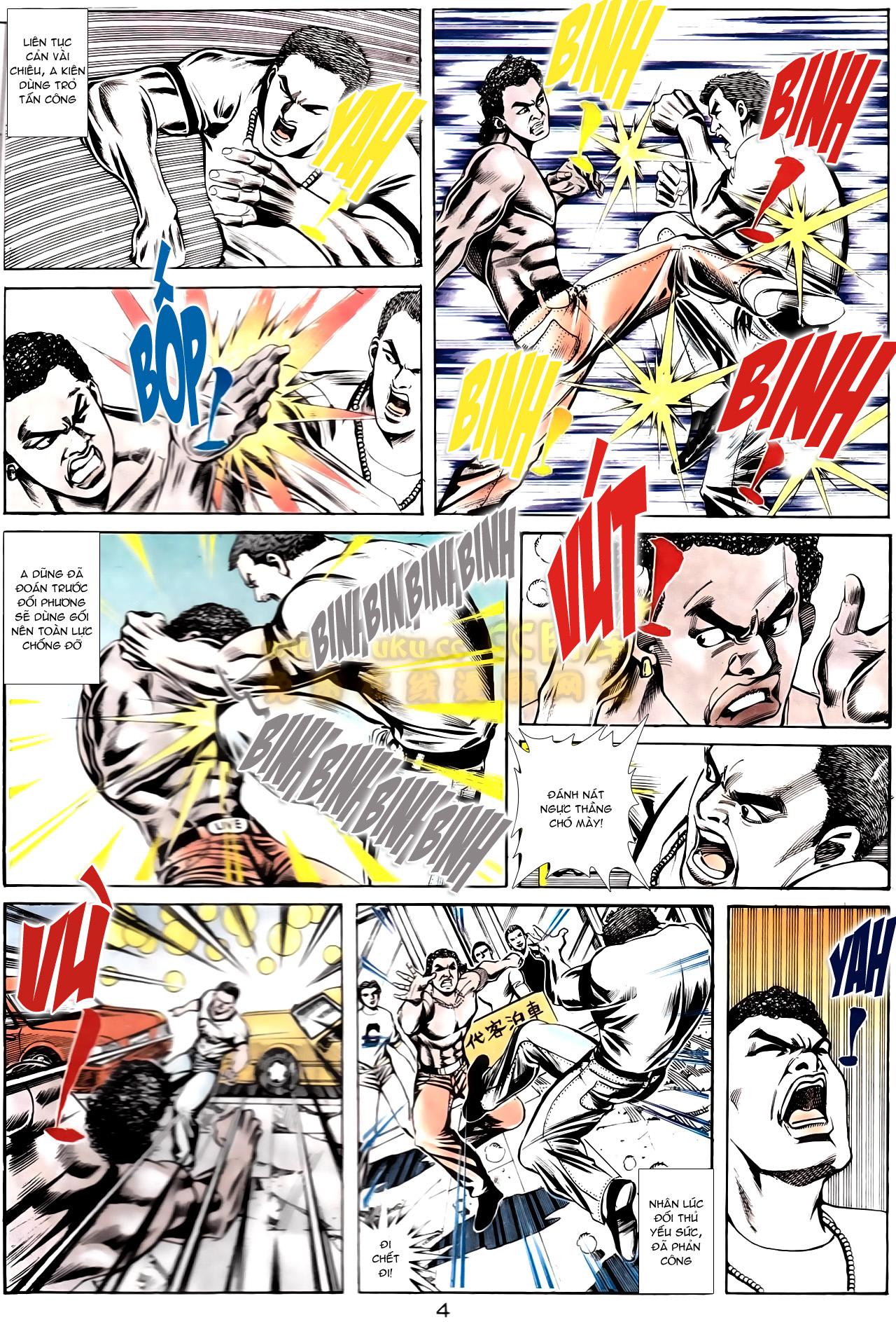 Người Trong Giang Hồ chapter 166: bùng nổ trang 23