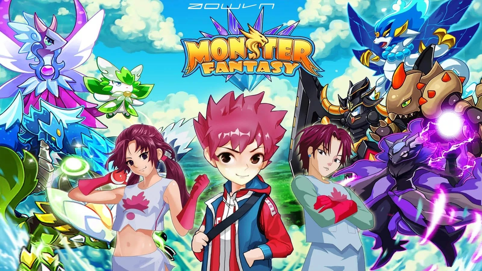 AowVN Monster%2B%25286%2529 - [ Offline | Android ] Monster Fantasy | Full Apk Data - Game tựa Pokemon cực thú vị