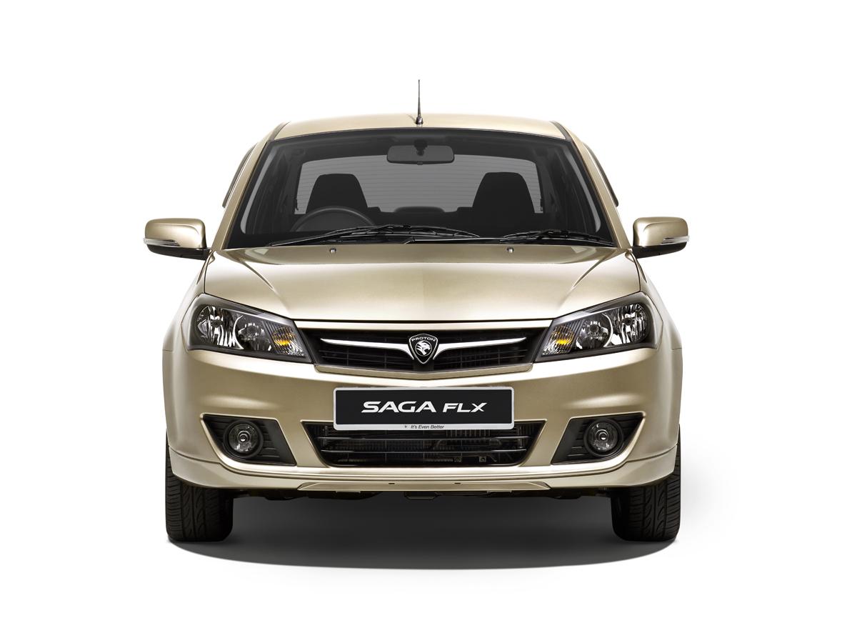 Gambar Proton Saga FLX Dan Info