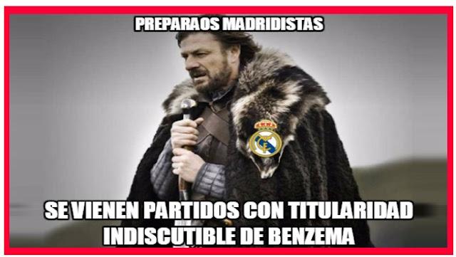 Meme Benzema titular