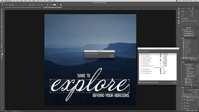 Cara Mengetahui Font di Photoshop dengan Gampang