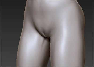 Pose do homem com um pequeno pênis