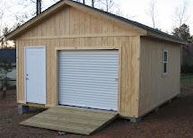 Portable Wood Garage Buildings