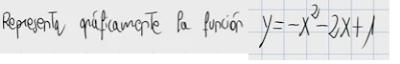 6.Representación gráfica de una función cuadrática (parábola) 4