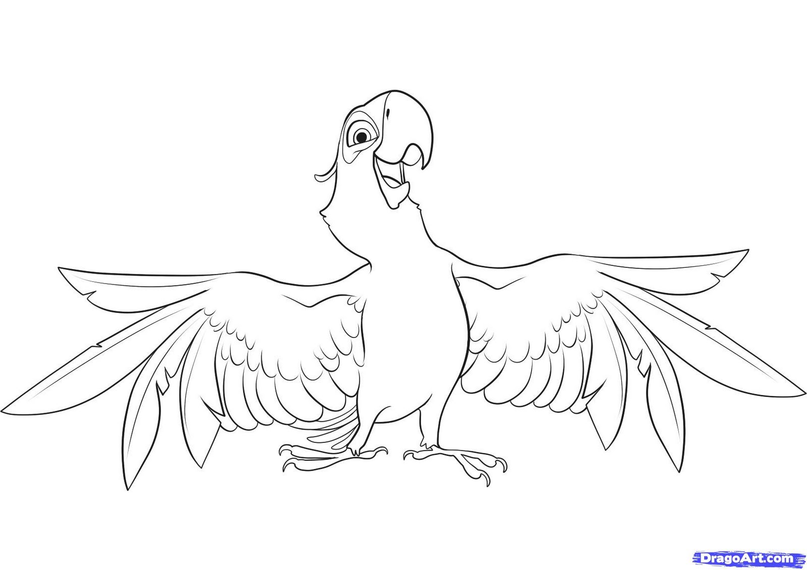 blue macaw coloring pages blue macaw coloring pages adult also