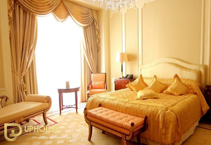 Phòng ngủ màu vàng kem 02