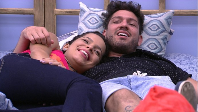 Ex-BBB Luiz Felipe descarta romance com Mayla