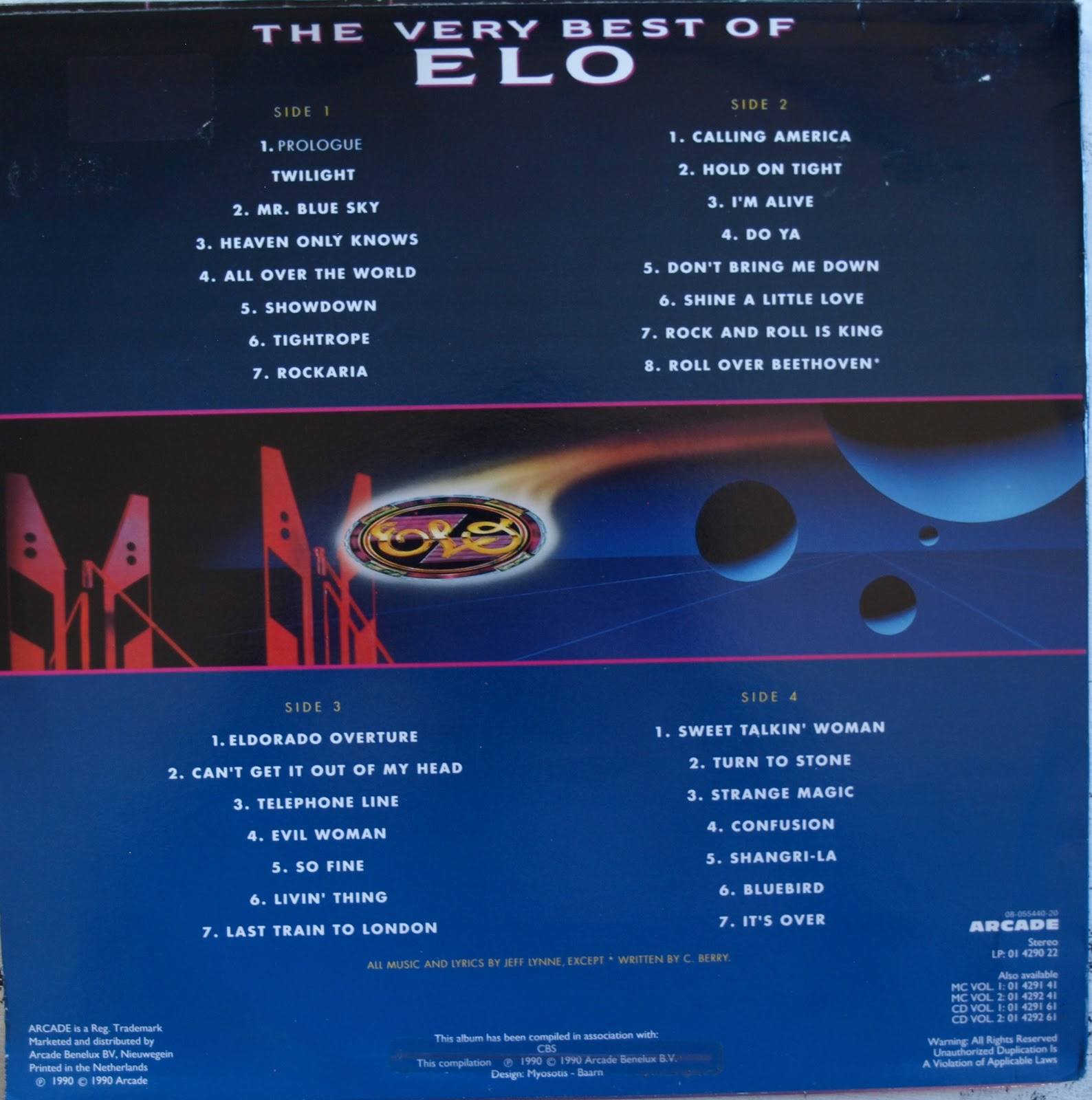 Elo Related Vinyl Electric Light Orchestra The Very