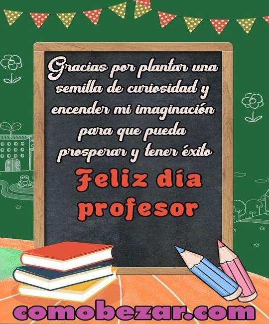 ➤ Frases para el dia del maestro 🥇