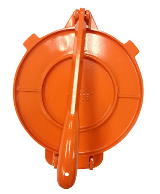 IMUSA Orange Tortilla Press