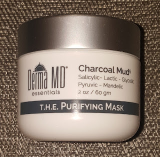 Derma MD Charcoal Mask & Pearl Cleanser*