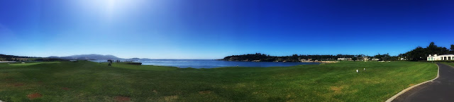 Pebble Beach via the 17-Mile Drive