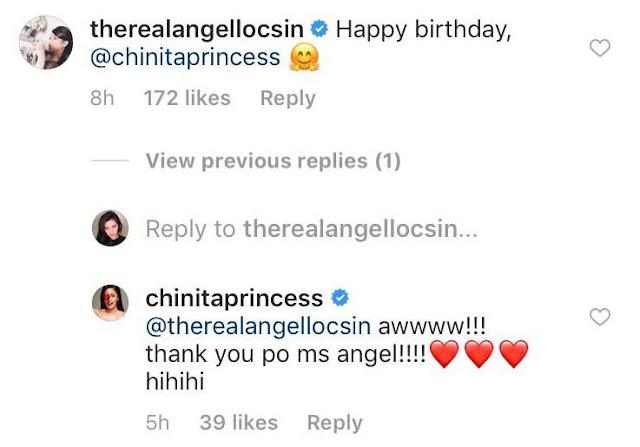 Angel Locsin Greeted Kim Chiu A Happy Birthday!