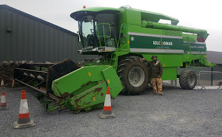 They've got a brand new combine harvester