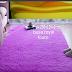karpet Lantai bulu lembut dan halus /tikar uk 200x120x2cm