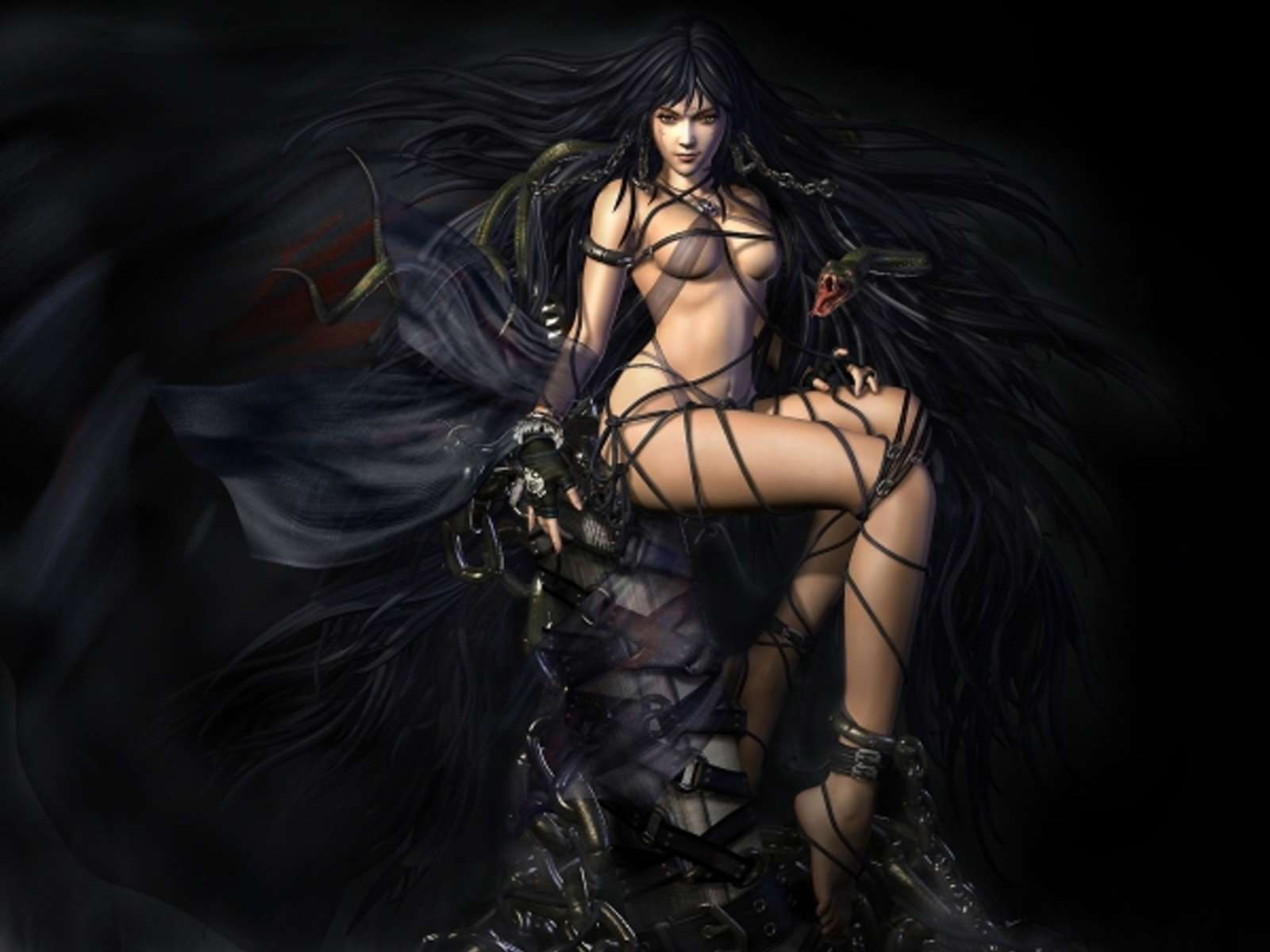 Has dark gothic witch girls have removed
