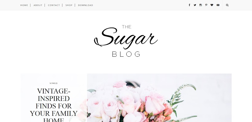 Sugar Free Blogger Template