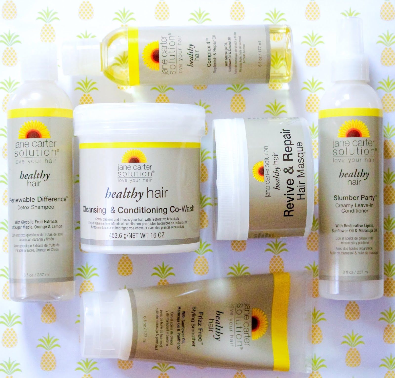 review u0026 demo wash day with jane carter solution healthy hair collection part ii - Slumber Solutions